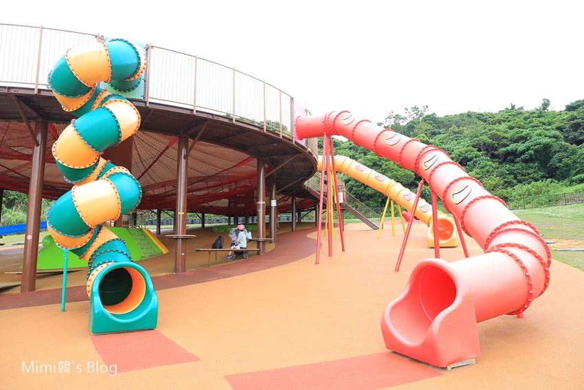 【沖繩親子景點】中城公園:6條溜滑梯免費玩到爽,沖繩超夯親子公園推薦