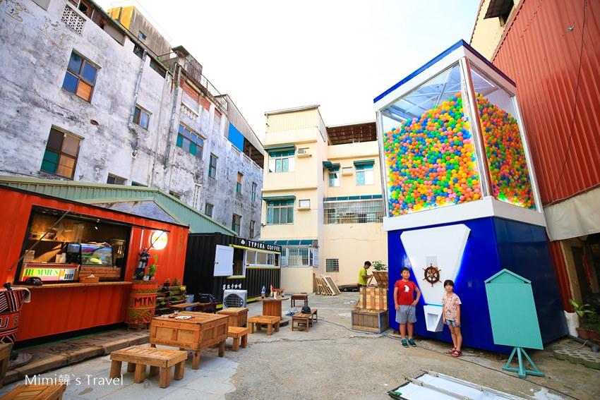 【台南扭蛋機】衛民街巨大扭蛋機貨櫃市集:沒有極限,只有台南可以超越台南