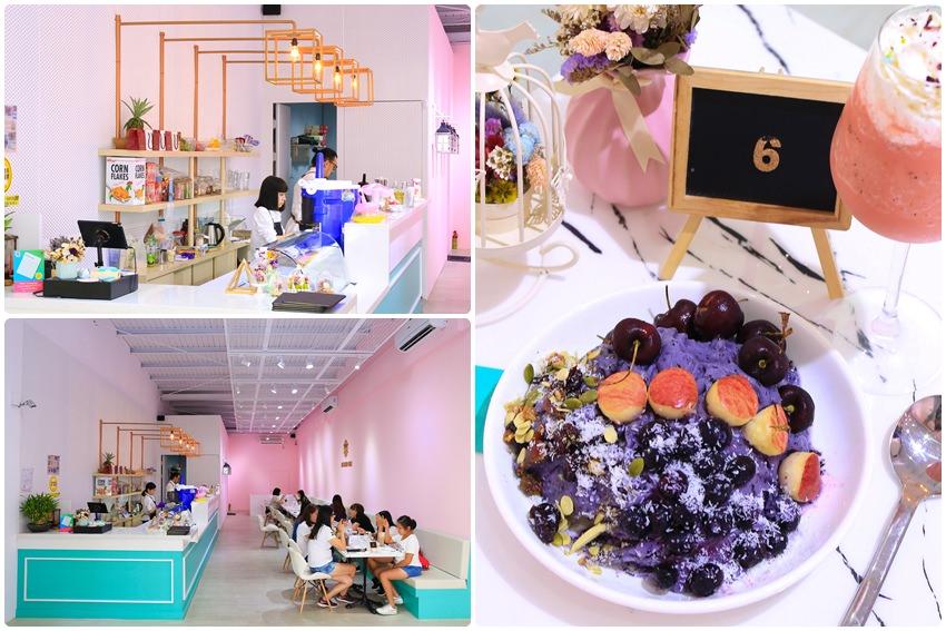 【高雄冰店】ICE FEVER CLUB 雪絨俱樂部:甜美系質感IG夯,堅持新鮮水果製冰磚,好拍好吃填滿少女心