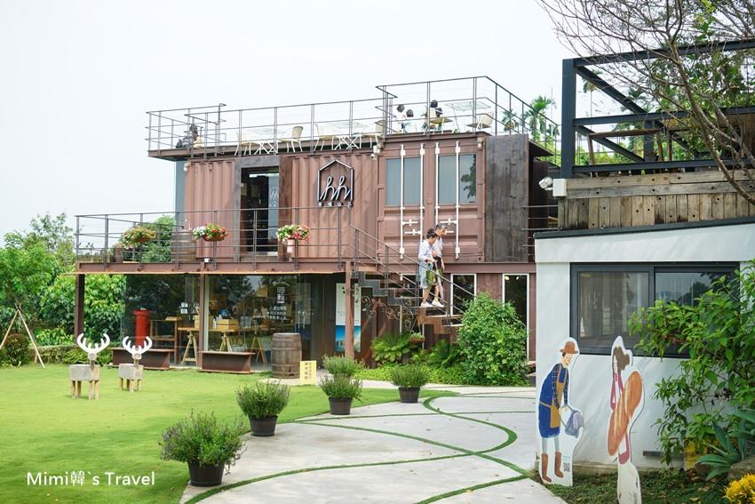 【嘉義景點】幸福山丘:IG超夯!嘉義圓林仔貨櫃屋咖啡廳,隱身山林中的美好生活哲學