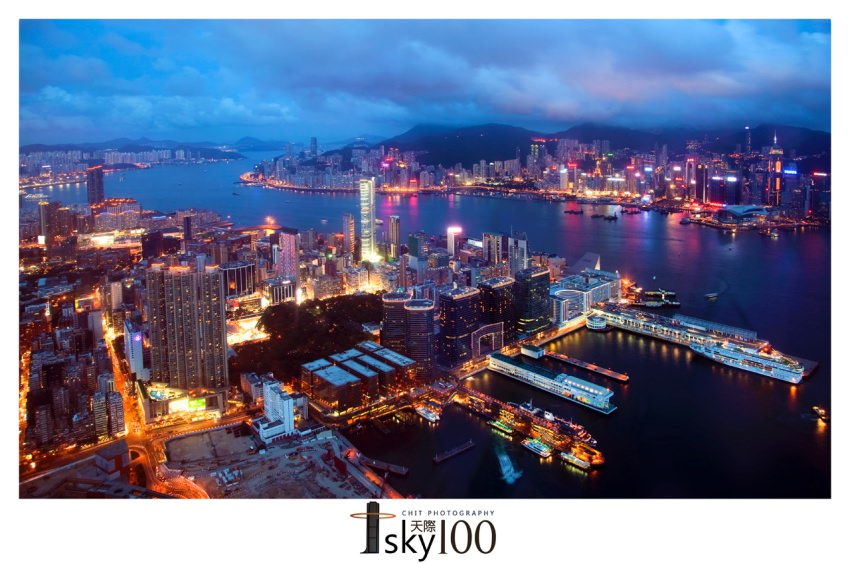 【香港景點】Sky 100 天際100景觀台:俯瞰最美維多利亞港,360度香港全景