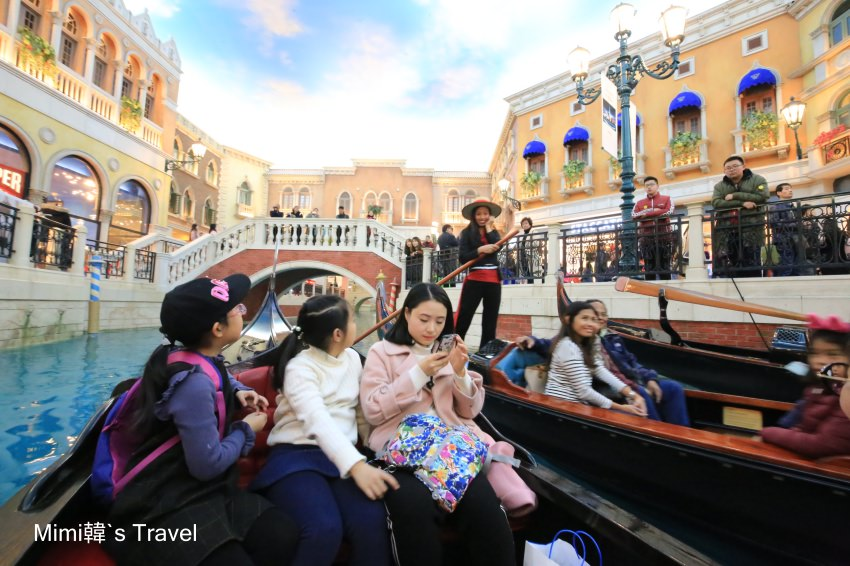 【澳門住宿】威尼斯人酒店:必逛大運河購物中心搭貢多拉船,一秒到歐洲