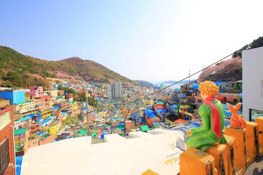【釜山】甘川洞文化村(含交通):釜山必遊美拍景點熱門行程,計程車&公車怎麼搭?
