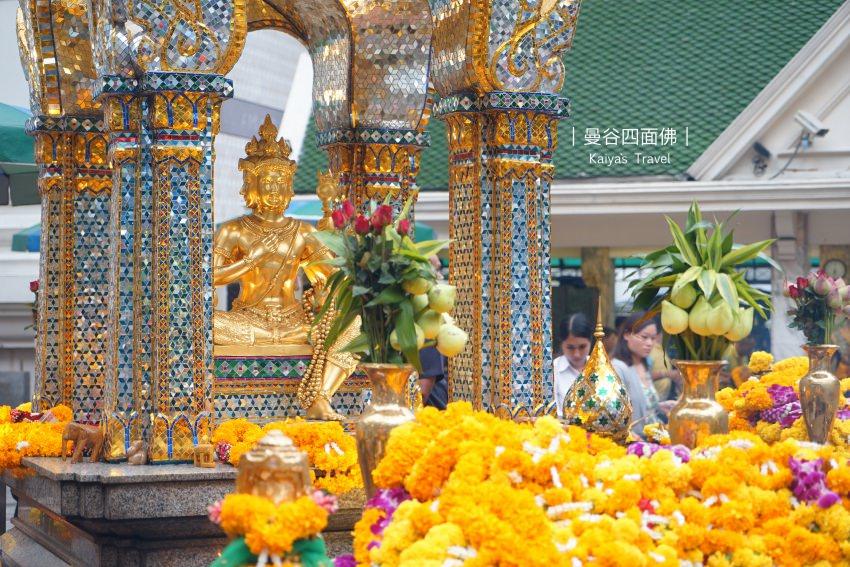 【泰國曼谷】四面佛:第一次來該怎麼拜?願望達成又該怎麼還願呢?
