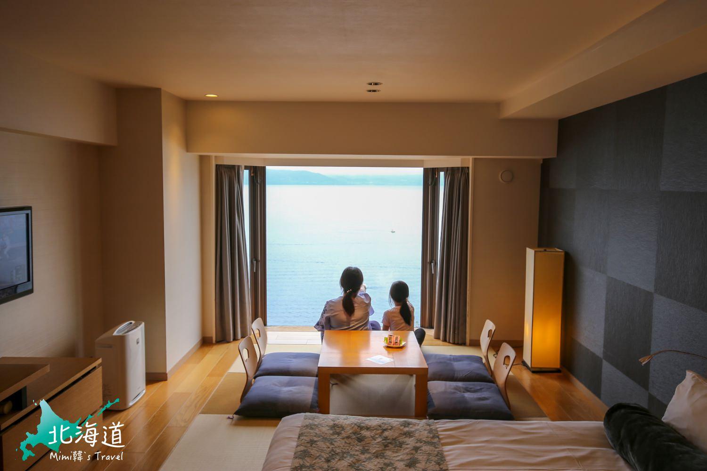 【北海道】乃の風リゾート:洞爺湖No.1溫泉飯店,必住絕美湖景房型,質感超好