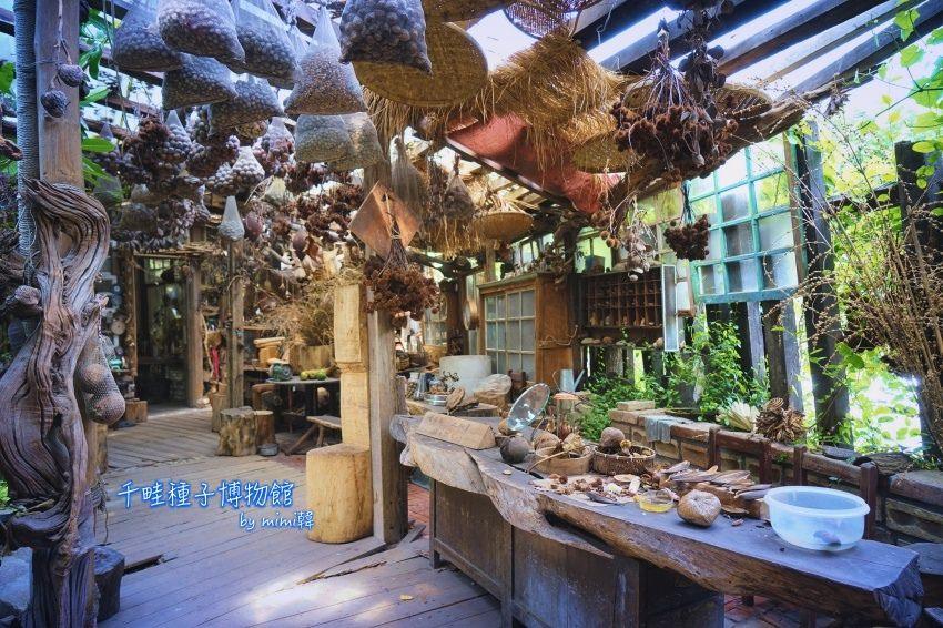 【台南景點】千畦種子博物館(要預約):走進屬於種子的奇妙世界,感受這些身邊被遺忘的美好~