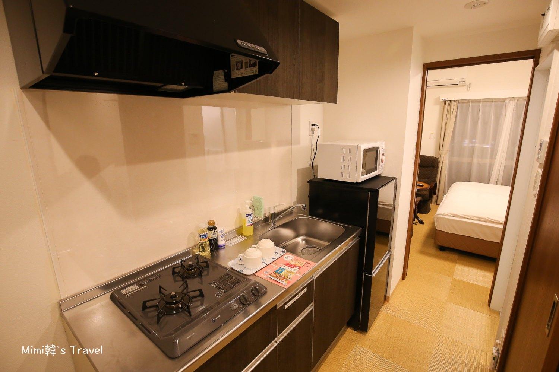 【沖繩民宿】宇宙新都心公寓:近DFS免稅店地點好,有停車場、廚房、洗烘衣機超便利