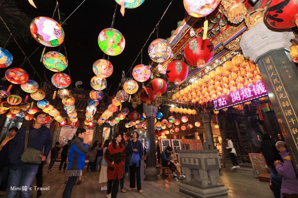 【台南景點】普濟殿燈會(2021點燈時間):台南國華街千盞花燈,農曆新年走春好去處