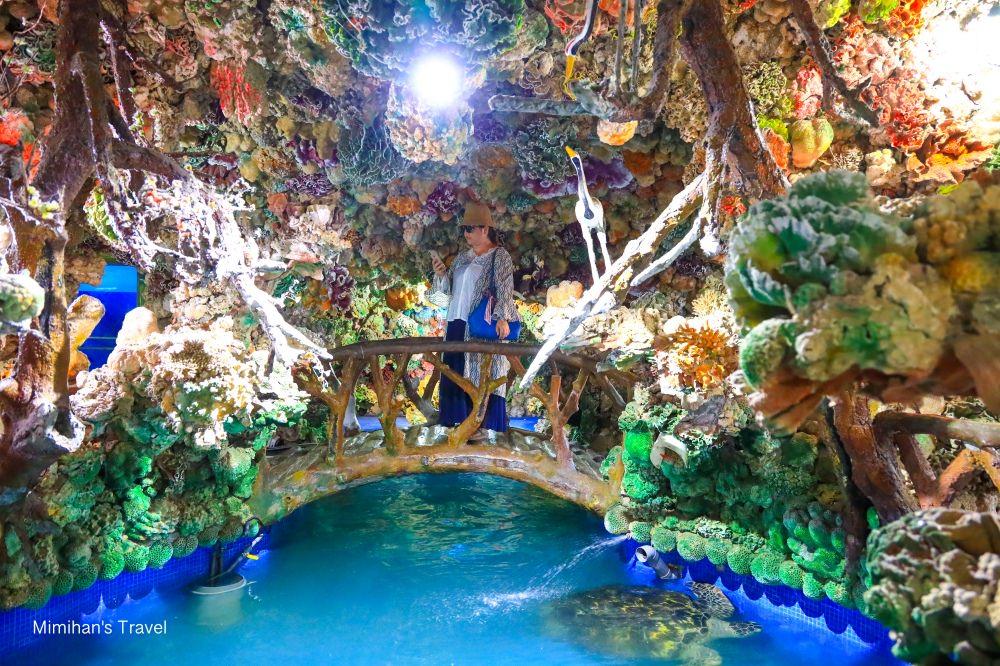竹灣大義宮彩色珊瑚洞