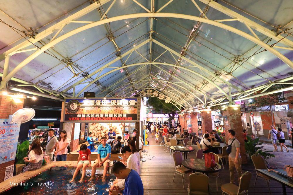 宜蘭礁溪|湯圍溝溫泉公園:免費溫泉景點,露天泡腳/SPA/溫泉魚體驗,順便買奕順軒