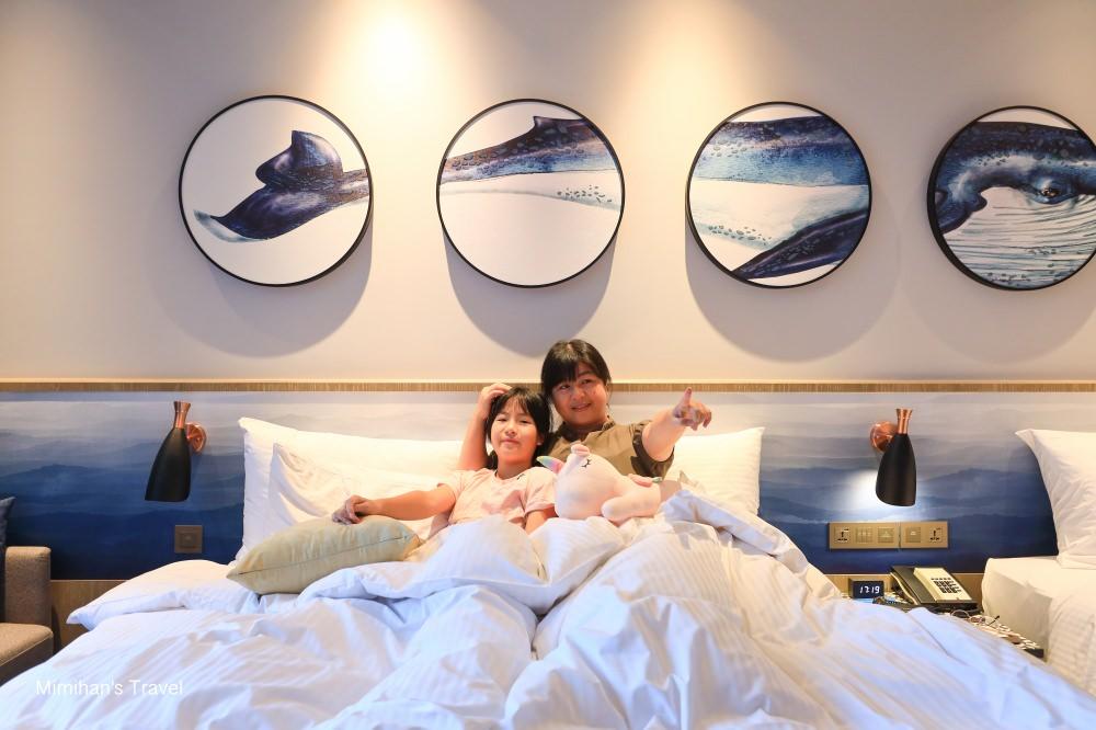 窗外有鯨魚!COZZI Blu和逸飯店桃園館:海洋主題住宿,鄰Xpark水族館&華泰名品城