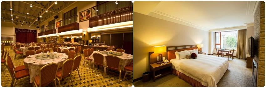 阿里山賓館房型&自助餐