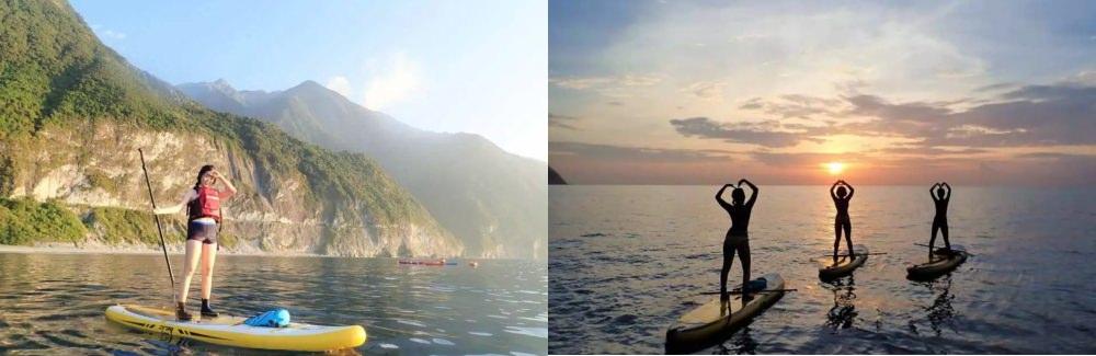 清水斷崖(獨木舟、立槳體驗)