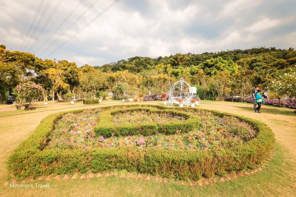 蘿莎玫瑰山莊花圃