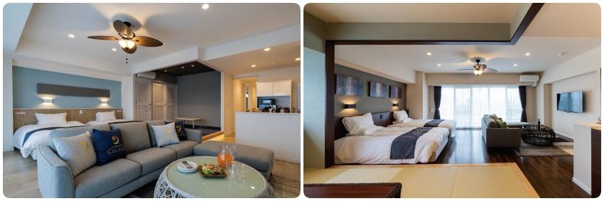 北谷柯迪奧水宮頂級公寓飯店房型