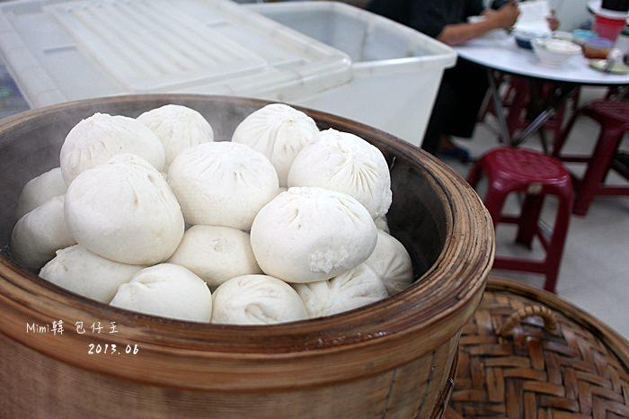 【台南.小吃】外皮飽滿、內餡香甜、肉汁狂滴的大包子來啦!! 「大菜市包仔王」