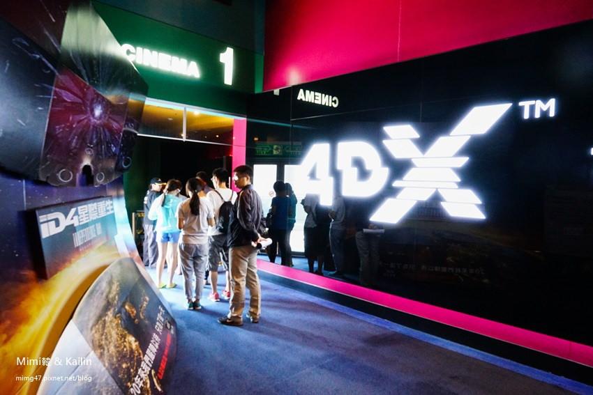 【台南電影院】大遠百威秀影城4DX:媽呀!椅子飛起來啦!看ID4星際重生,身歷其境臨場感無敵。