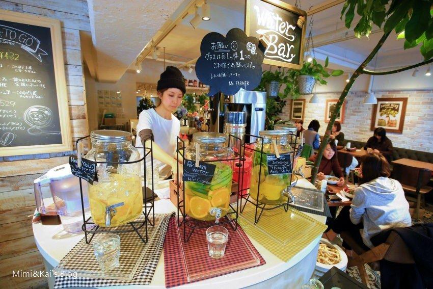 【東京美食】表參道.Mr. Farmer:原宿表參道超人氣蔬菜咖啡館,愛吃野菜的快來。