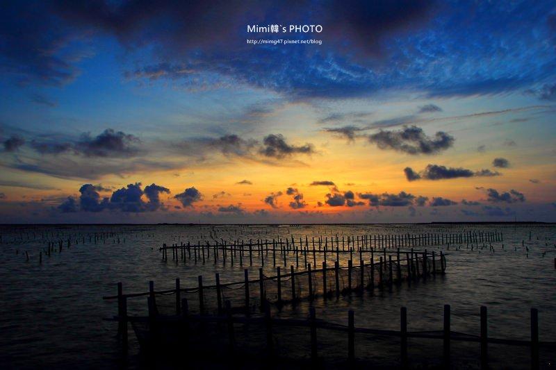 【台南景點.七股】七股觀海樓:能看到特有的沿海潟湖夕陽美景,冬天還可以觀察黑面琵鷺唷~
