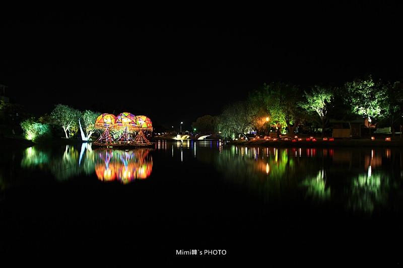 【台南.鹽水】2014月津港燈節:鹽水上河圖,享受一場光影與水波的元宵燈會盛宴~