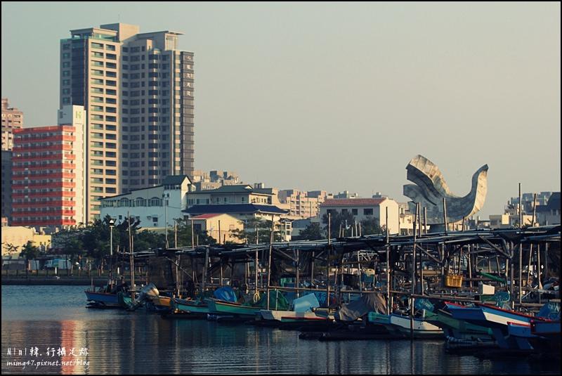 【台南.安平】安平休憩碼頭:在這個小漁港,與安平來次不同氣氛的約會吧~